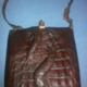 Bolso cocodrilo con garras. Crocodile bag with claws