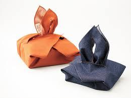 Una variante del bolso furoshiki