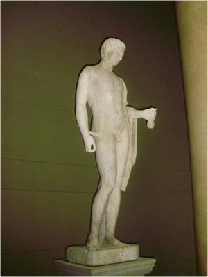 Escultura griega conservada en el Museo de Pérgamo de Berlín