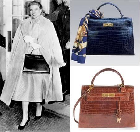 303d6142518 La Princesa Grace Kelly de Mónaco con el bolso