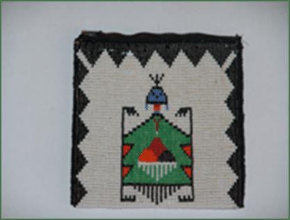 El bolso en las tribus de indios americanos