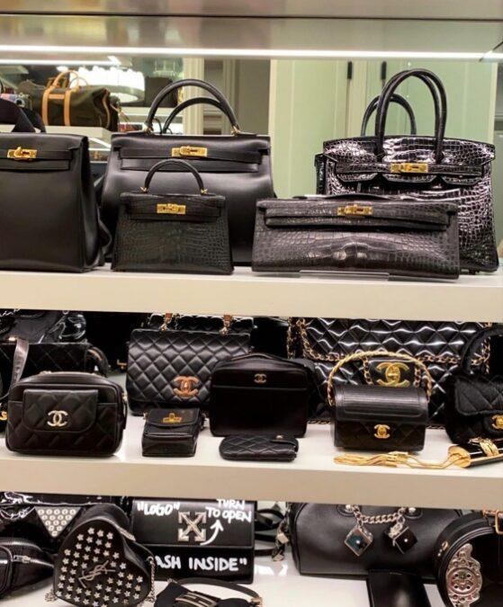 Impresionante colección de bolso de Kylie Jenner