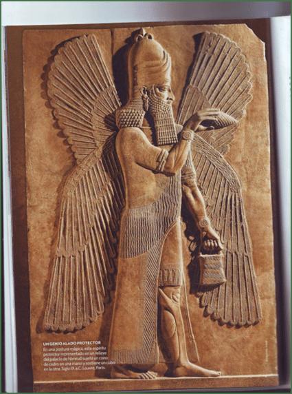 El bolso en la civilización mesopotámica