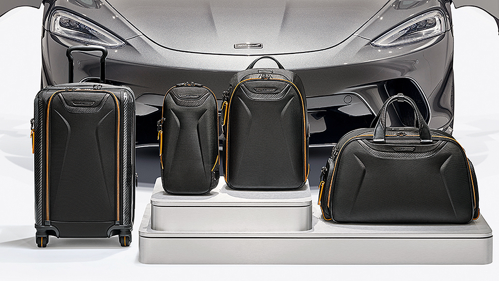 Las maletas superdeportivas McLaren