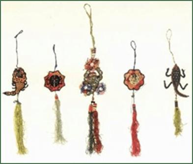 Bolsos de la buena suerte en la antigua China
