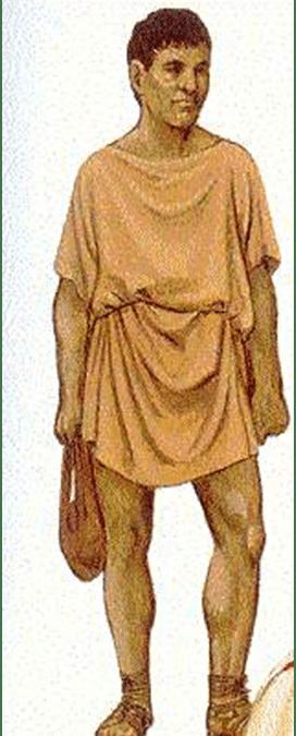 Bolso en el Imperio Romano