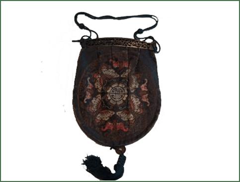 Delicadeza del bolso en la antigua China